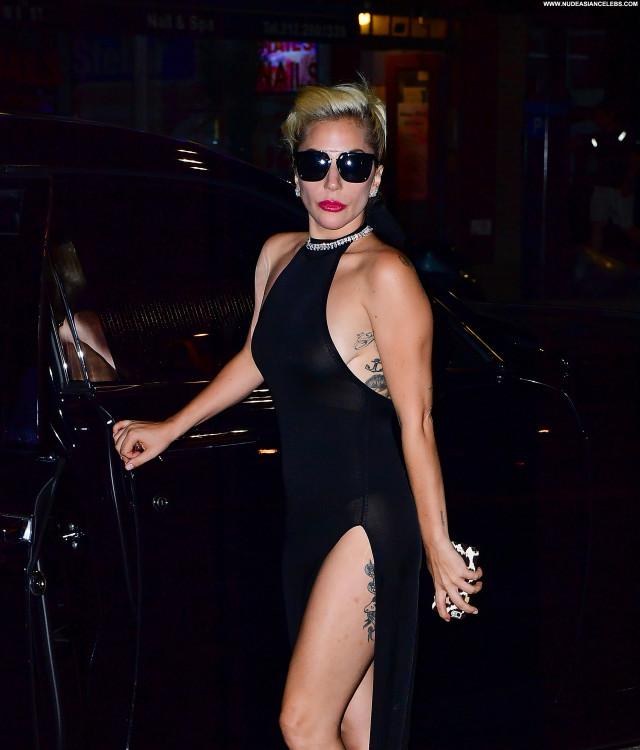 Lady Gaga New York Singer Posing Hot Celebrity Beautiful New York