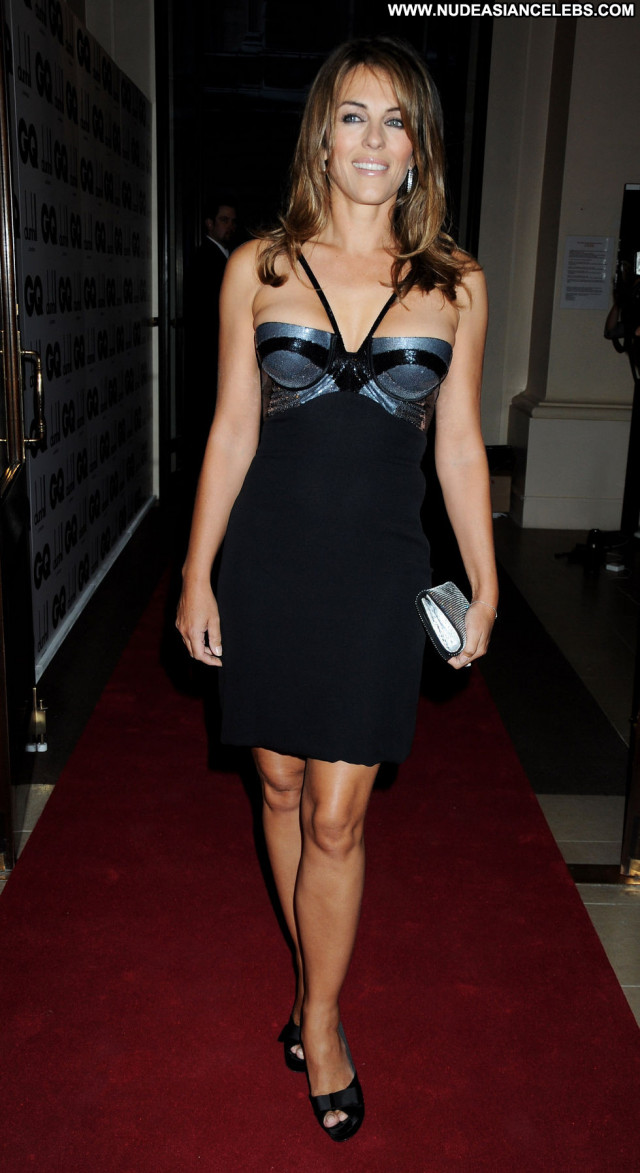 Elizabeth Hurley Gq Men Of The Year Awards In Beautiful Awards