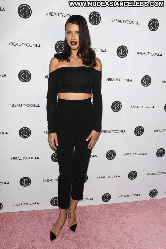 Adriana Lima Los Angeles Posing Hot Celebrity Paparazzi Los Angeles