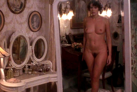 sylvia kristel nude in mirror from lady chatterley's lover