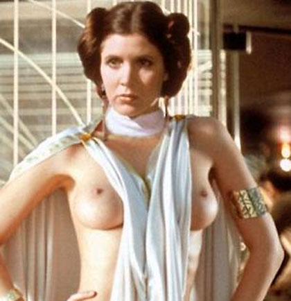 carrie fisher aka princess leia nude