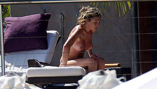 british celebrity abigail clancy topless sunbathing