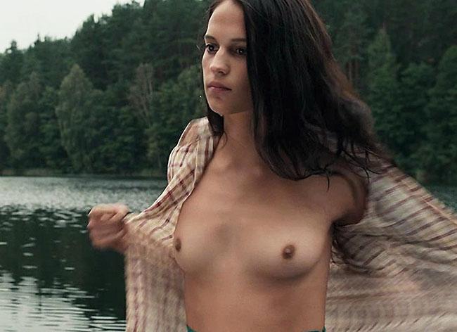 alicia vikander aka lara croft nude