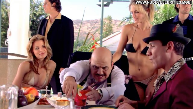 Stacey Alysson Venus  Vegas Table Bikini Celebrity Beautiful Posing