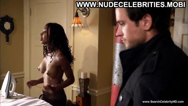 Shanola Hampton Nude Sexy Scene Shameless Webcam Ebony Doll