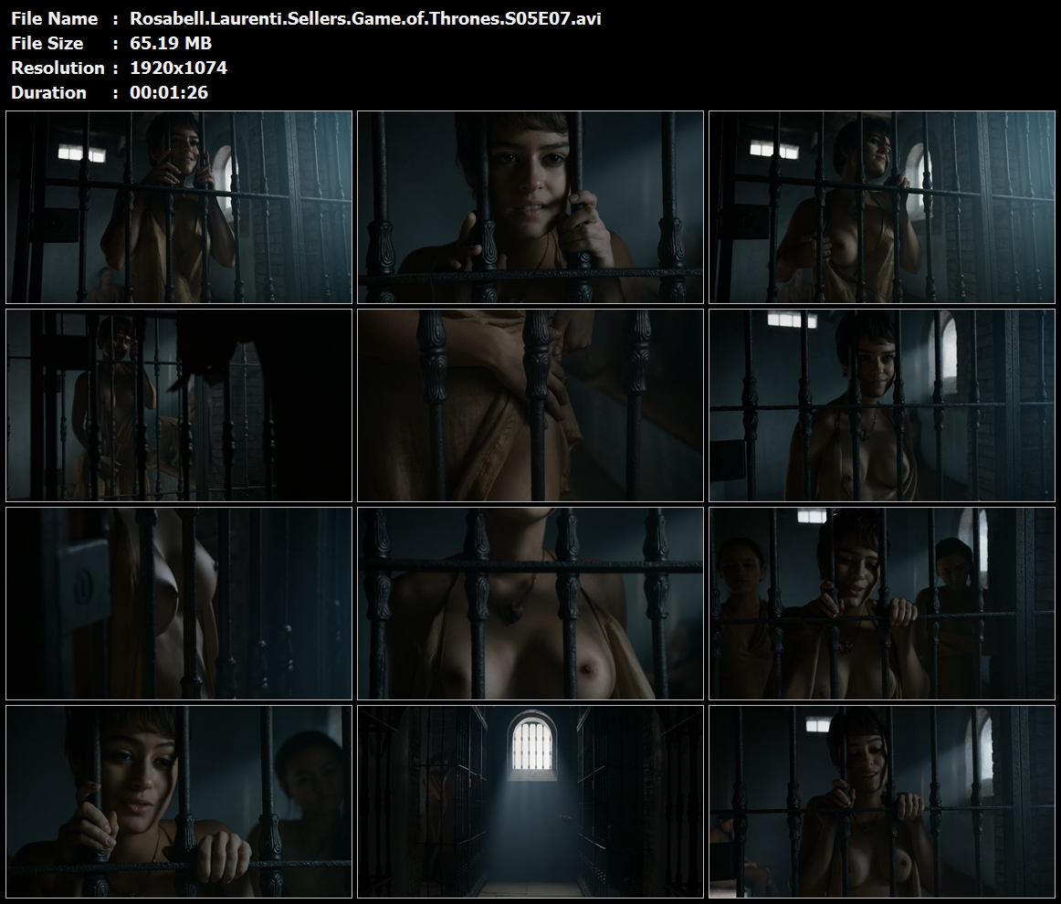 Rosabell Laurenti Sellers - Game of Thrones S05E07 | 1080P