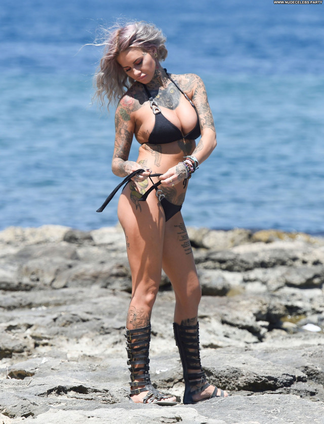 Jemma Lucy The Beach Model Sexy Posing Hot Celebrity Beautiful Beach