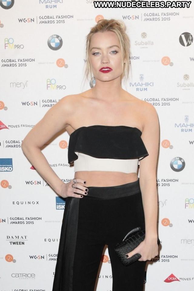 Laura Whitmore Fashion London Paparazzi Celebrity Posing Hot Babe