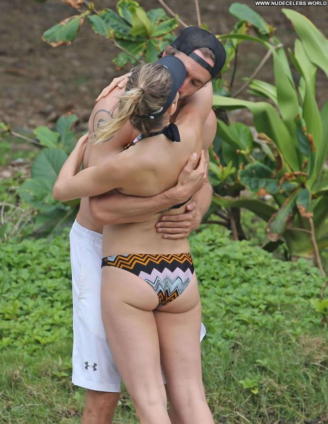 Natalie Jayne Roser No Source Bikini Yoga Celebrity Winter Thong