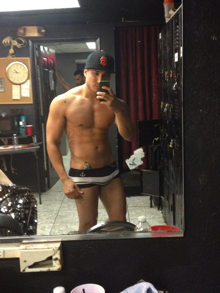 Sexy Muscular Guy Taking Self Pictures  Nude Amateur Guys
