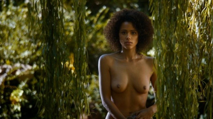 Missandei Naked on Game of Thrones - Nathalie Emmanuel Boobs