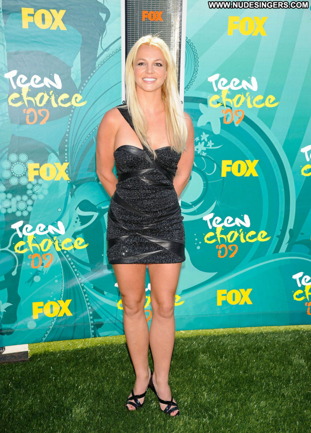 Britney Spears Paparazzi Beautiful Celebrity Babe Teen Awards Posing