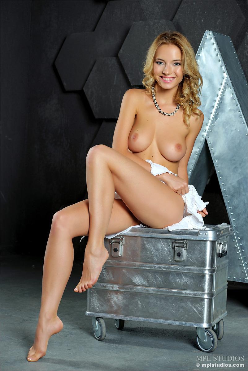 Danica Nude Under her White Blouse  NudesPuricom