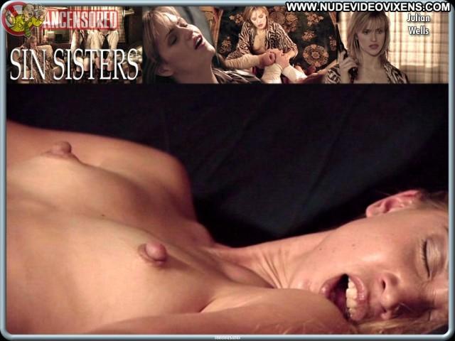 Julian Wells Sin Sisters Stunning Medium Tits Nice Celebrity Video
