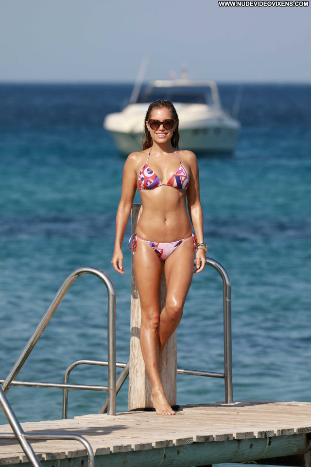 Sylvie Meis Celebrity Bikini Posing Hot Beautiful Babe Candids Sexy