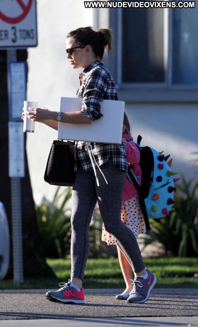 Jennifer Garner Los Angeles Celebrity Babe Paparazzi Posing Hot Los