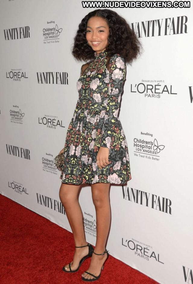 Yara Shahidi West Hollywood Paris Posing Hot Hollywood Babe Celebrity