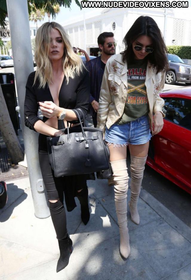 Khloe Kardashian Beverly Hills Babe Celebrity Paparazzi Beautiful