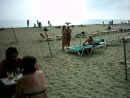 Naturists on Maspalomas beach
