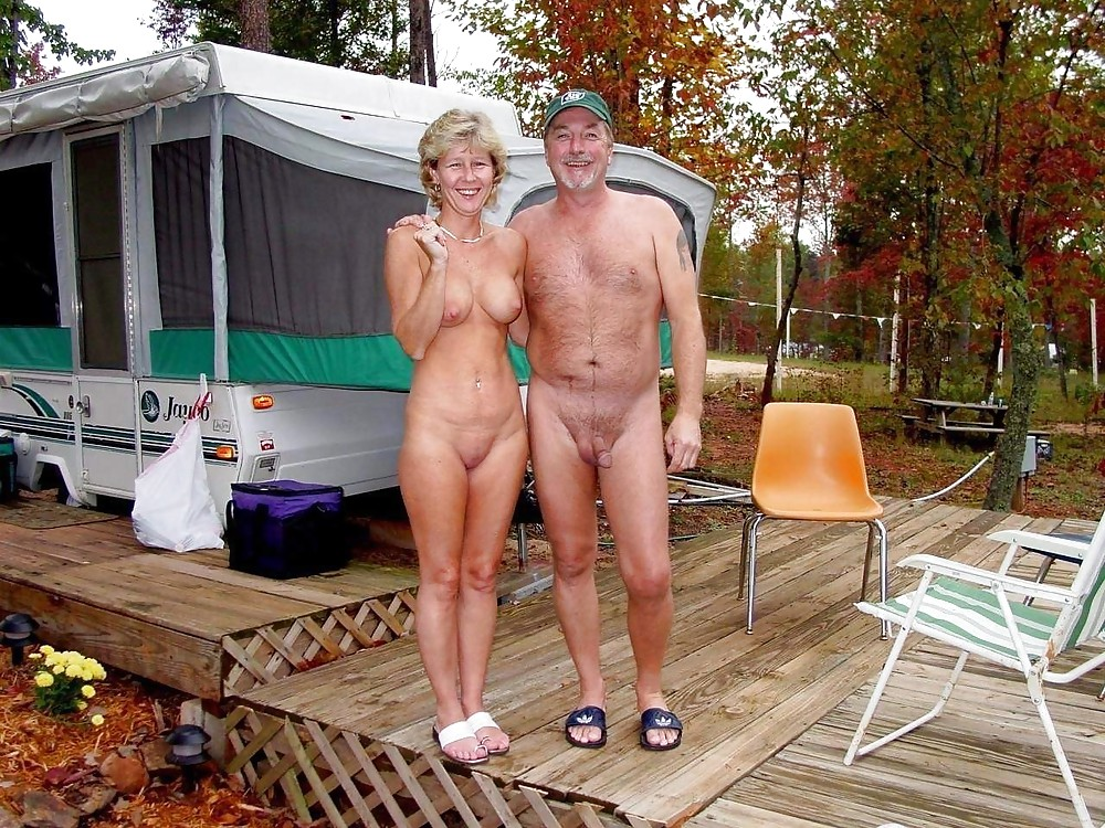 Nudism Amateur Couples in Public
