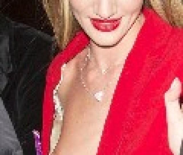 Rosie Huntington Whiteley Nude In Nip Slip