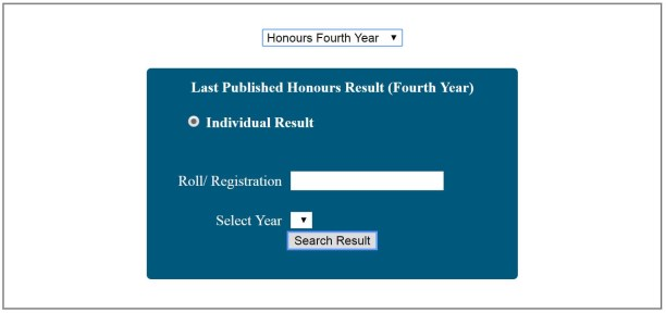 Honorus 4th /final year results 2019