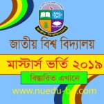 Masters final Admission 2019