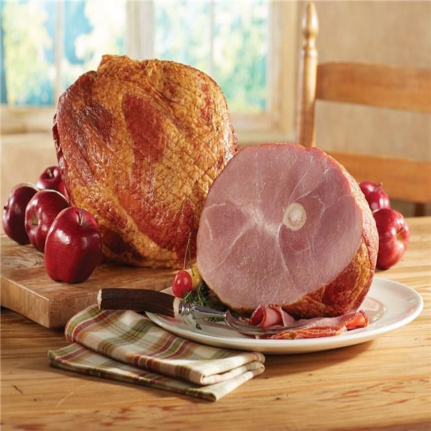 Smoked BoneIn Ham  Whole 1112 lbs  Nueskes
