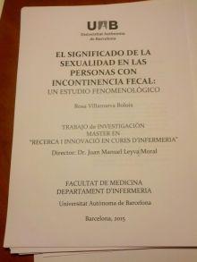 El significado de la Sexualidad en las personas con incontinencia fecal: un estudio metodológico