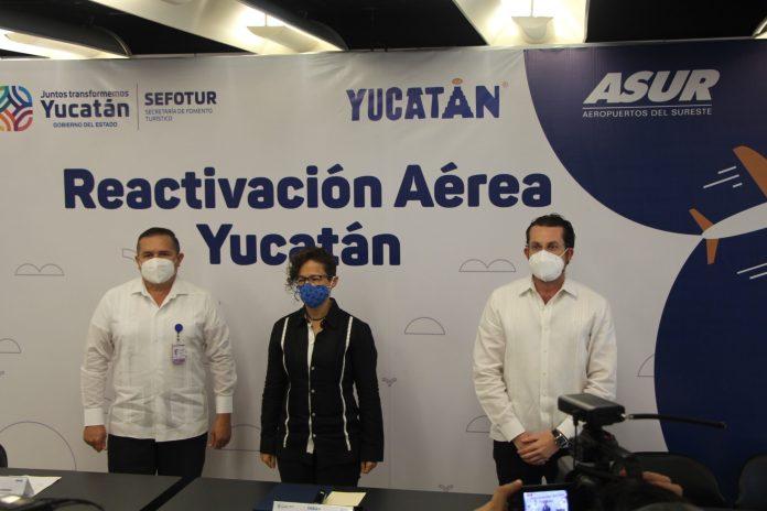 Confirma Sefotur la ruta Houston-Mérida y recibe vuelo de Oaxaca con Volaris