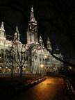 Rathaus a la noche