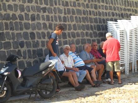 Como le gusta juntarse a los Tanos. Cefalú, Sicilia