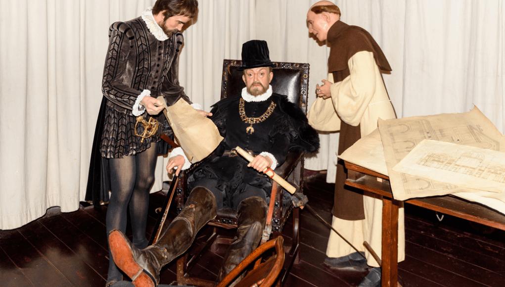 Escena de la vida del rey. © Shutterstock