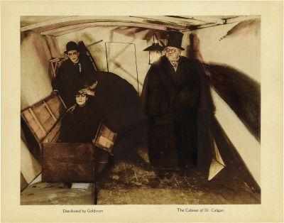 El gabinete del Dr. Caligari.