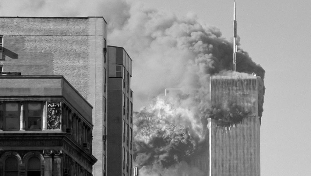 El atentado del 11-S © Wiki Commons.