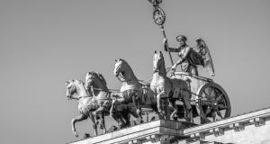 Puerta de Brandenburgo, Berlín.