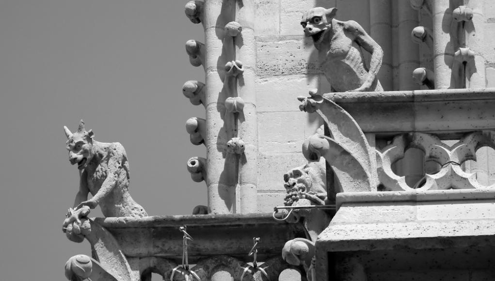 Gárgolas de Notre-Dame © Shutterstock