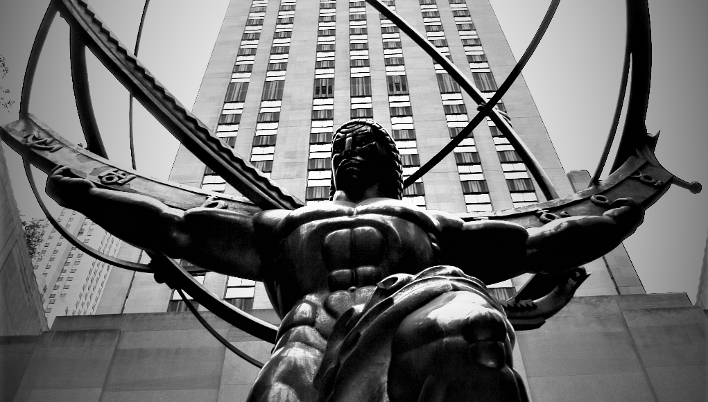 Estatua de Atlas en Manhattan © Wikipedia
