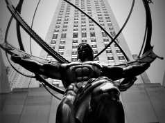 Estatua de Atlas en Manhattan © Wikipedia