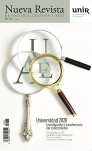 Nueva Revista, número 171, Universidad 2020