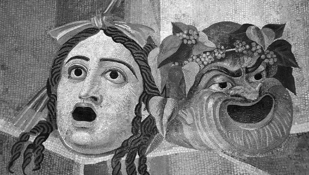Mosaico romano del siglo II © Wikipedia