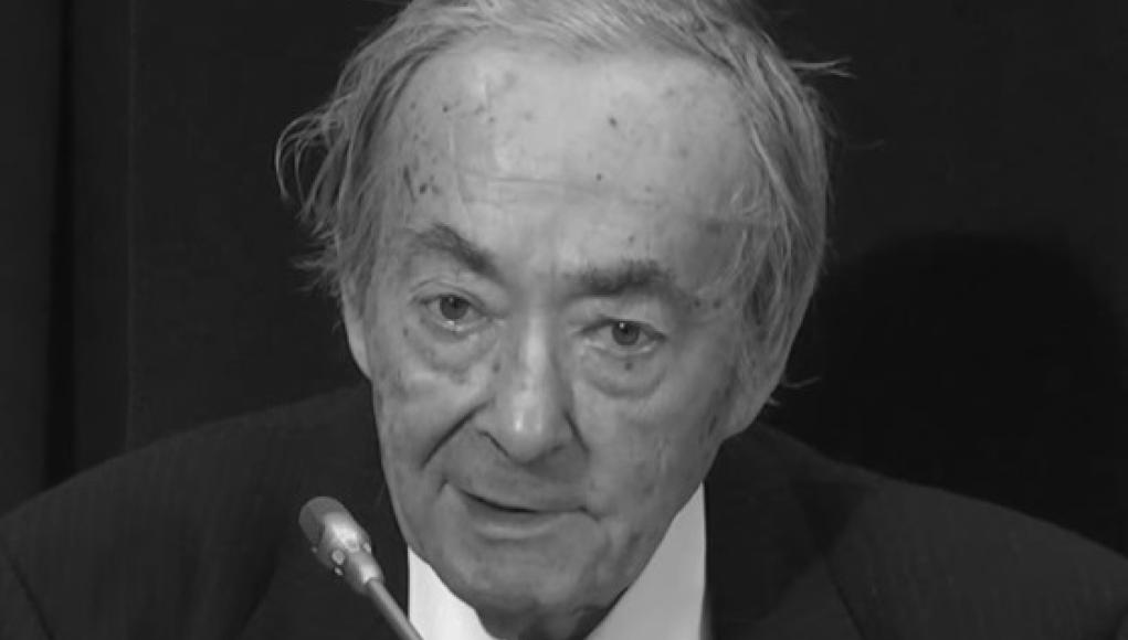 George Steiner. © Wikipedia