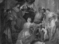 El juicio de Salomón (Rubens). Foto: © WC