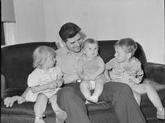 Una familia americana, años 1940