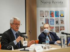 Alejandro Tiana y el rector de UNIR, José Mª Vázquez © Josema Visiers