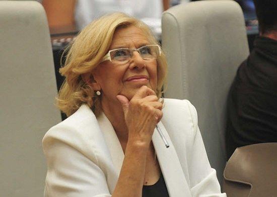 Manuela Carmena dans une image de fichier.