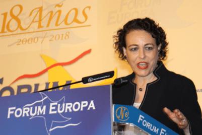 Magdalena Valerio. (Imagen: Nueva Economía Forum)