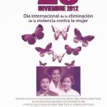25 de noviembre, día internacional contra la violencia de género.