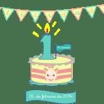 El primer cumpleaños (lo que creí que sería y lo que ha sido)
