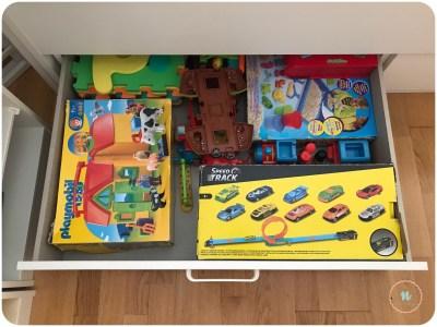juguetes ordenados